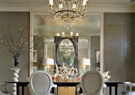 mirror simple dining room chandeliers amazing chandelier mirror