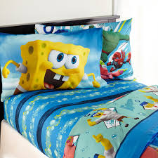 Spongebob Bedding Sets Spongebob Mr Awesome Bedding Sheet Set Walmart