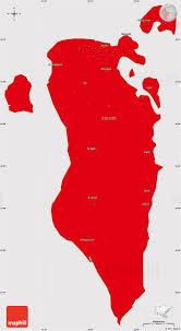 map of bahrain flag simple map of bahrain flag centered