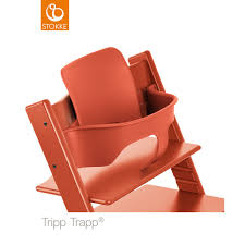 Chaise Tripp Trapp Stokke Tripp Trapp Baby Set In Lava Orange Peppermint London