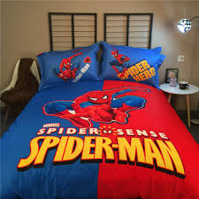 Marvel Bedding Bedroom Spiderman Bedroom Set Spiderman Bed Sheets Spiderman