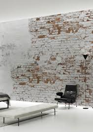 plaster brick wall wallpaper mural by behangfabriek