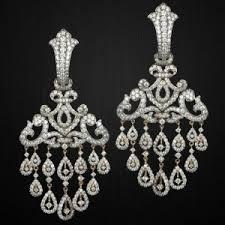 Chandelier Earrings India Earrings Gold Plated Earrings Made From Metal Indian