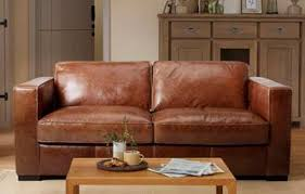 Brown Leather Sofa Dfs Brown Leather Sofa Bed Visionexchange Co
