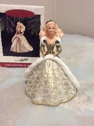 hallmark cards holiday barbie 1994 christmas holiday ornament