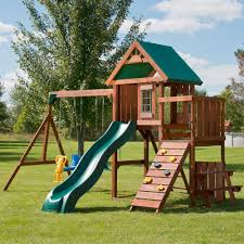 playset lowes playset girls outdoor playhouse home depot playsets