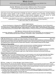 Medical Device Resume Examples by Medical Sales Resume Pharmaceutical Sales Resume Example Page 1png
