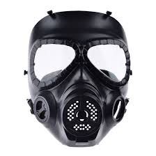 gas mask for halloween costume mask with fan picture more detailed picture about cs airsoft