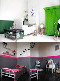 peindre une chambre avec deux couleurs peindre le mur en 2 couleurs