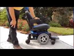 Hoveround Mobility Chair Jazzy 600 Power Chair By Pride Mobility Youtube