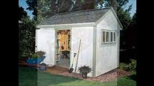 Diy Garden Shed Plans Free by Diy Storage Shed Plans Youtube