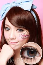 g u0026g natural blue circle lenses colored contacts pinkyparadise