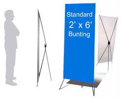 cara membuat x banner dengan publisher banner bunting mediasurf