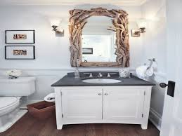 Beachy Bathroom Mirrors by Cottage Beach Bathroom Design Decor Thanksgiving Table