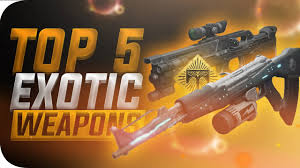 destiny top 5 best weapon ornaments in rise of iron
