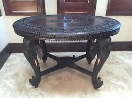 Exotic Coffee Tables by Antique Anglo Indian Hand Carved Wood Coffee Table Exotic