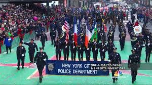 record number of cops guard macy s thanksgiving day parade nbc news