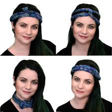 tie headbands cord or braid tie headbands