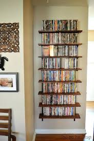 book stacking ideas cool dvd storage ideas