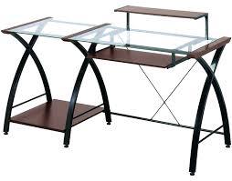 Glass Top Computer Desks For Home Staples Glass Computer Desk Z Line Glass Computer Desk For Home