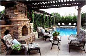 Covered Backyard Patio Ideas by Backyards Appealing Outdoor Living Space Portland Oregon Custom