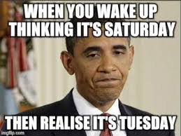 It S Saturday Meme - image tagged in disappointment obama imgflip