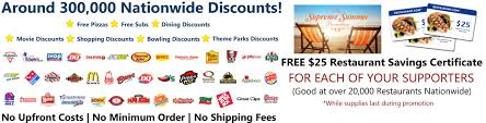 restaurant discounts cardholder login thanks for supporting