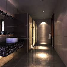 public bathroom design 3d model public toilet with designer interior cgtrader