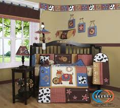 Western Baby Nursery Decor Sisi Western Cowboy Crib Bedding And Accessories Toddler Rooms