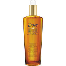 dove pure care restorative hair treatment dry oil 3 3 fl oz