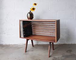 mid century record cabinet best ideas of record cabinet with additional build a mid century