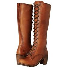 womens frye boots size 12 frye lace up cognac washed vintage