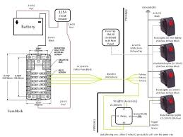 switch wiring diagram for lights and other accessories