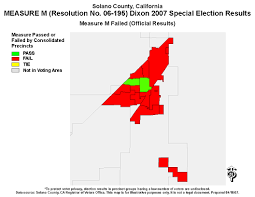 Solano County Map Solano County Election Results And Files