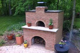 Backyard Brick Pizza Oven The Pizza Oven U2013 It U0027s Finished Kind Of Henning House