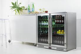 glass door bar fridge all frozen napoleon nz