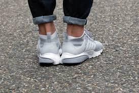 nike air presto flyknit ultra wolf grey pure platinum white