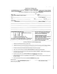10 best images of free printable consignment agreement sample