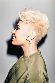 short blonde haircuts on black women women medium haircut
