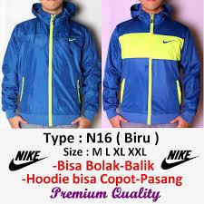 Jual Jaket Nike jual jaket bolak balik nike adidas n16 biru murah