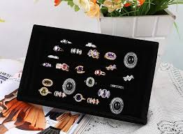 classic fallos ring holder images Superior full velvet ring box jewelry box earrings ring jewelry jpg