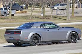 is this a test mule for the 2018 dodge challenger srt demon