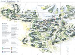 Colorado Ski Map by Map Of Beaver Creek Resort Map Beavercreek Com