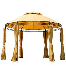 Outdoor Patio Canopy Gazebo Outsunny Outdoor Patio Canopy Gazebo With
