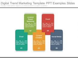 digital trend marketing template ppt examples slides powerpoint
