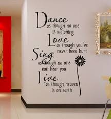 wall decals quotes quotesgram wall art quotes dance vinyl wall decal quote life is the dancer and