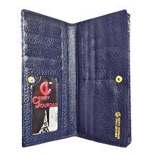 Dompet Cerry Jourdan jual cerry jourdan cj1 698 dompet kulit asli biru di lapak