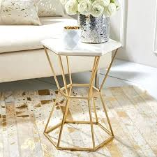 small gold side table gold side table mecatronica info