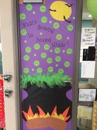 classroom door decorations for halloween halloween pumpkin