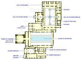 Caesars Palace Floor Plan Alhambra Palace Plan Jumble Of Interest Pinterest